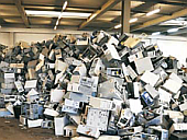 Elektronikschrottrecyclinganlage
